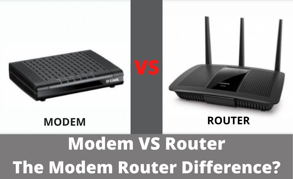 modem router difference